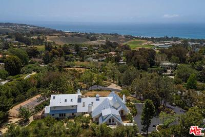 Malibu Single Family Home For Sale: Harvester Road