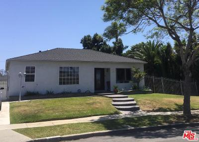 Los Angeles Single Family Home For Sale: 608 West 121st Street