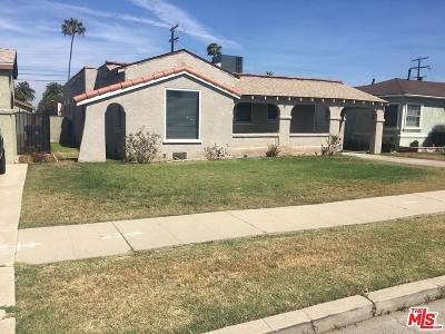 Los Angeles Single Family Home For Sale: 10046 La Salle Avenue