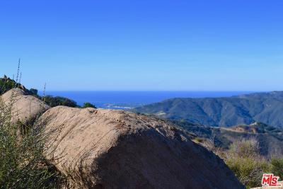 Malibu Residential Lots & Land For Sale: 24775 West Saddle Peak Road