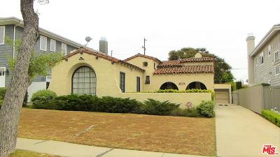 Los Angeles CA Single Family Home For Sale: $1,500,000