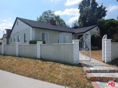 Los Angeles CA Single Family Home For Sale: $1,196,000