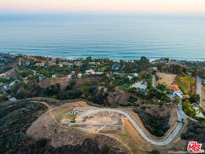 Malibu CA Residential Lots & Land For Sale: $4,995,000