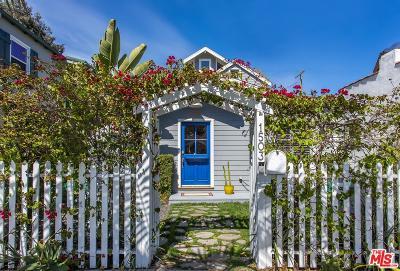 Venice Single Family Home For Sale: 1503 Cabrillo Avenue
