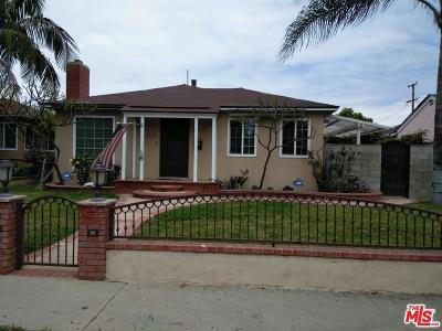 Long Beach Single Family Home For Sale: 3230 Magnolia Avenue