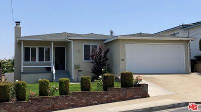 Torrance Single Family Home For Sale: 25706 Crest Road
