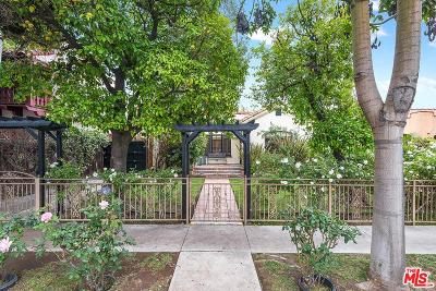 West Hollywood Single Family Home For Sale: 832 Huntley Drive