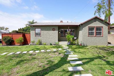 Culver City Single Family Home For Sale: 4478 Purdue Avenue
