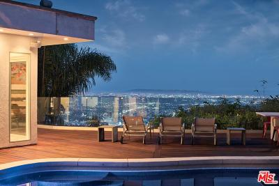 Sunset Strip - Hollywood Hills West (C03) Single Family Home For Sale: 2137 Sunset Plaza Drive