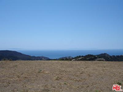 Malibu Residential Lots & Land For Sale: Ramera Motorway