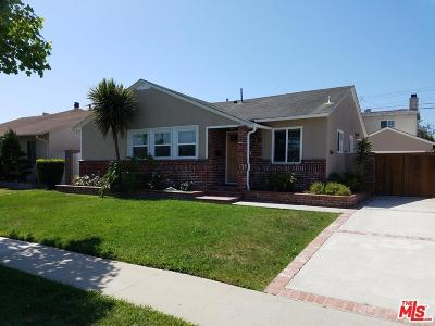 Torrance Single Family Home For Sale: 4102 West 175th Place
