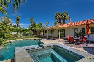 Palm Springs Single Family Home For Sale: 2215 Paseo Roseta