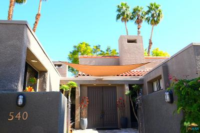 Rancho Mirage Condo/Townhouse Active Under Contract: 540 Desert West Drive
