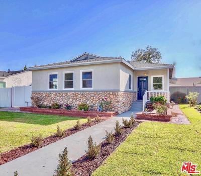 Burbank Single Family Home For Sale: 529 North Cordova Street
