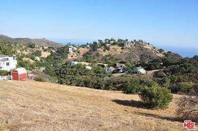 Malibu Residential Lots & Land For Sale: 27300 Old Chimney Road