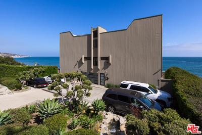 Malibu CA Condo/Townhouse For Sale: $2,700,000