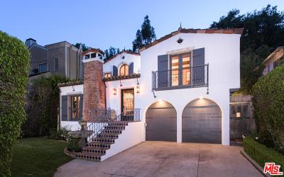 Beverly Hills Single Family Home For Sale: 1407 North Beverly Drive