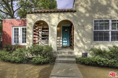 Single Family Home For Sale: 3932 Wade Street