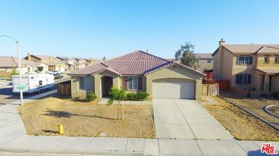 Rosamond Single Family Home For Sale: 2336 Alpaca Avenue