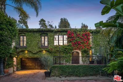 Single Family Home For Sale: 2710 Nichols Canyon Road