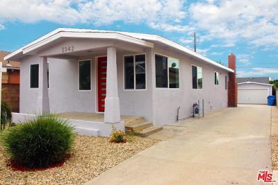 Single Family Home For Sale: 2342 Fernleaf Street