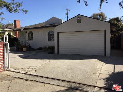 Single Family Home For Sale: 4444 South Slauson Avenue