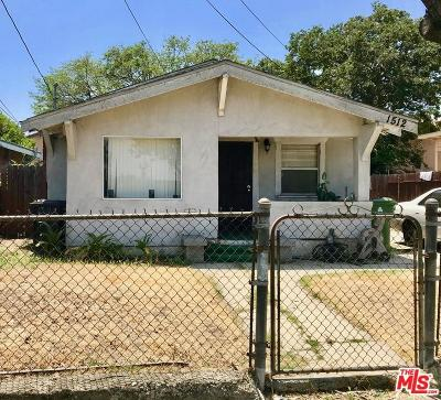 Los Angeles Single Family Home For Sale: 1512 East 32nd Street