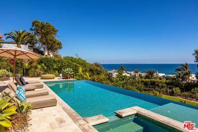 Malibu CA Single Family Home For Sale: $7,900,000