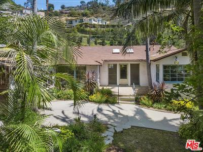 Beverly Hills Single Family Home For Sale: 1551 Benedict Canyon Drive