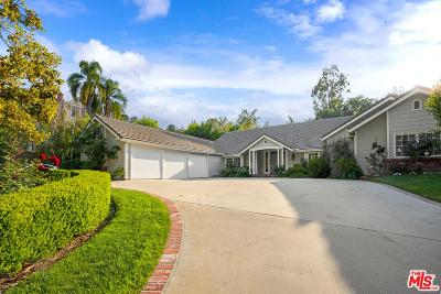 Encino Single Family Home For Sale: 4471 Woodley Avenue