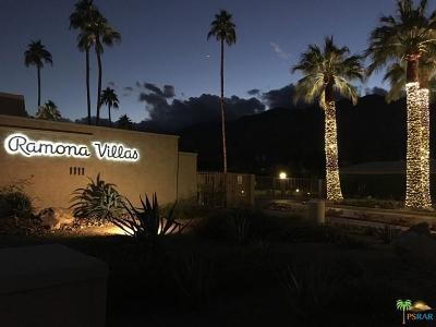 Palm Springs Condo/Townhouse For Sale: 1111 East Ramon Road #46