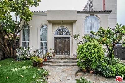 Hancock Park-Wilshire (C18) Single Family Home For Sale: 330 North Lucerne