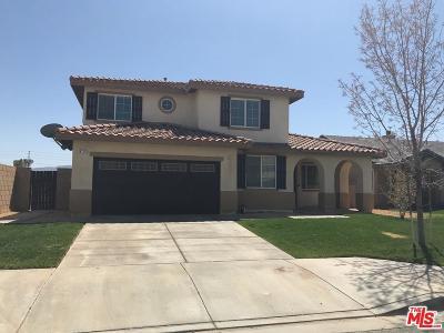 Lancaster Single Family Home For Sale: 6120 West Avenue J14