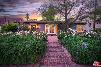 Toluca Lake Single Family Home For Sale: 4445 Placidia Avenue