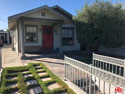 Single Family Home For Sale: 2821 Knox Avenue