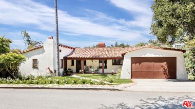Santa Monica Single Family Home For Sale: 401 Mesa Road