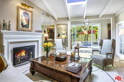 Beverly Hills Single Family Home For Sale: 2552 Benedict Canyon Drive
