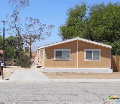 Desert Hot Springs Single Family Home For Sale: 15485 Bubbling Wells Road