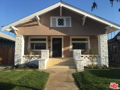 Los Angeles Single Family Home For Sale: 2356 West 29th Place
