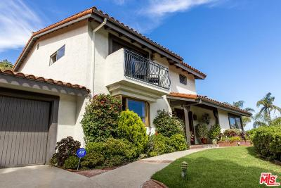 Los Angeles County Single Family Home For Sale: 3848 Malibu Country Drive
