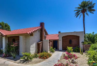 Palm Springs Condo/Townhouse For Sale: 2545 Miramonte Circle #UNIT C