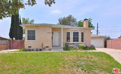 Burbank Single Family Home For Sale: 2316 Peyton Avenue