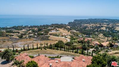 Malibu Single Family Home For Sale: 6035 Murphy Way