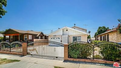 Single Family Home For Sale: 2422 Gatewood Street