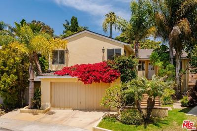Santa Monica Single Family Home For Sale: 3021 Linda Lane