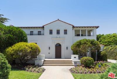 Hancock Park-Wilshire (C18) Single Family Home For Sale: 647 South Hudson Avenue