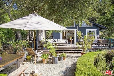 Topanga Single Family Home For Sale: 21487 Encina Road