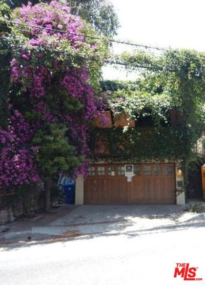 Los Angeles Single Family Home For Sale: 1007 North Beverly Glen