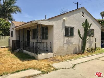 Los Angeles Single Family Home For Sale: 2656 South La Brea Avenue