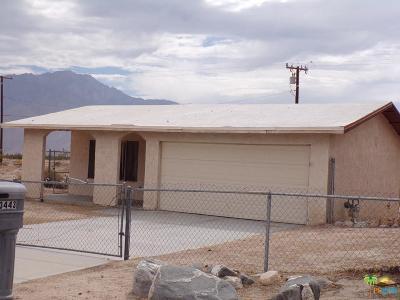 Desert Hot Springs Single Family Home For Sale: 13443 El Rio Lane